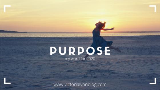 Purpose // 2020 Pt 2