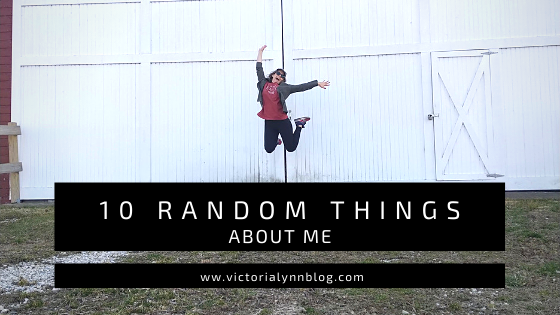 10 Random Things About Me